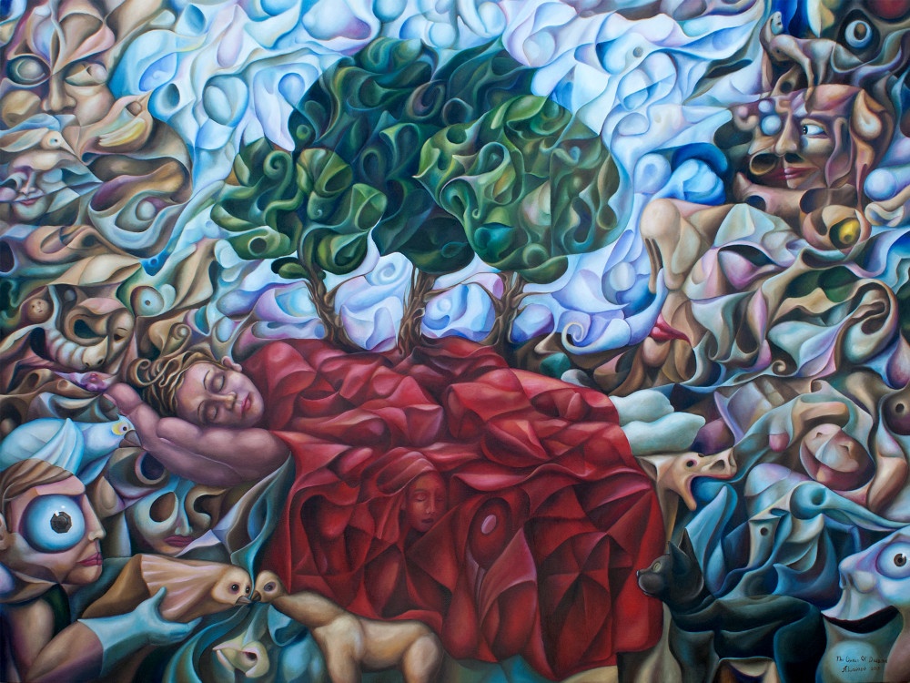 The Queen Of Dreams Oil On Canvas, 48″ x 36″ (commissioned)